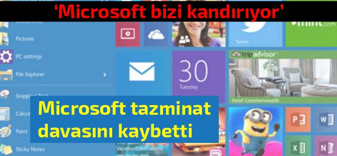 Microsoft'a 10 bin dolarlık Windows 10 güncelleme cezası