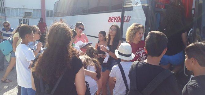 Gençlik Dairesi'nin Kantara Yaz Kampları başladı