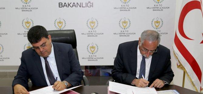 Milli Eğitim ve Kültür Bakanlığı ile Girne Belediyesi arasında protokol