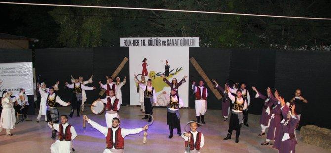 FOLK-DER 16. Kültür Sanat Günleri başladı