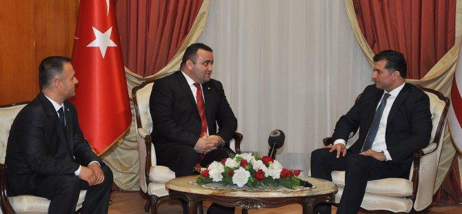 Başbakan, Sivil Savunma'nın yeni Başkanı'nı kabul etti