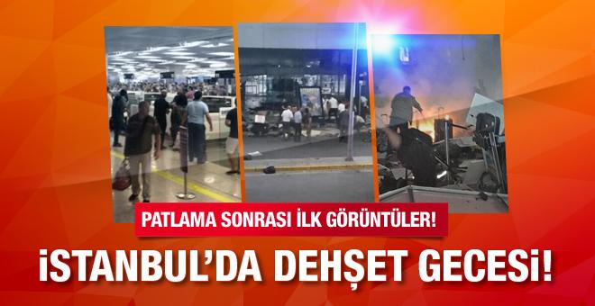 Flaş: İstanbul'da havaalanında 2 canlı bomba patladı. Silahlı çatışma çıktı