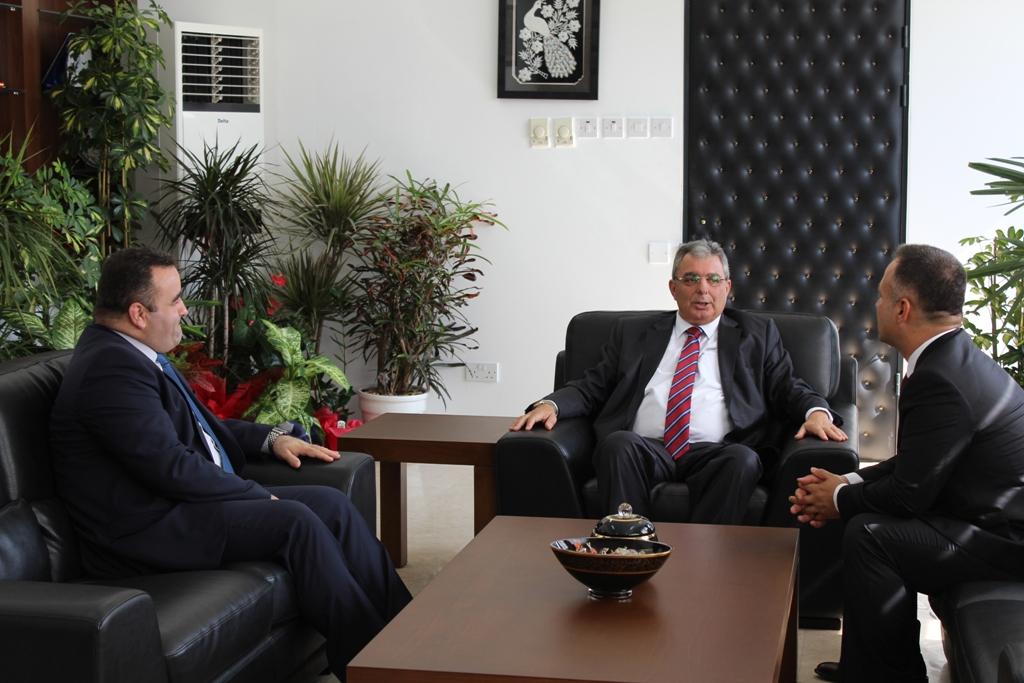 tİçişleri Bakanı Sivil Savunma Teşkilat Başkanlarını kabul etti
