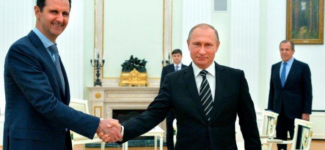 """""""Rusya'nın Esed için iki şartı var"""""""