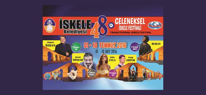 48. Geleneksel İskele Festivali yarın başlıyor.