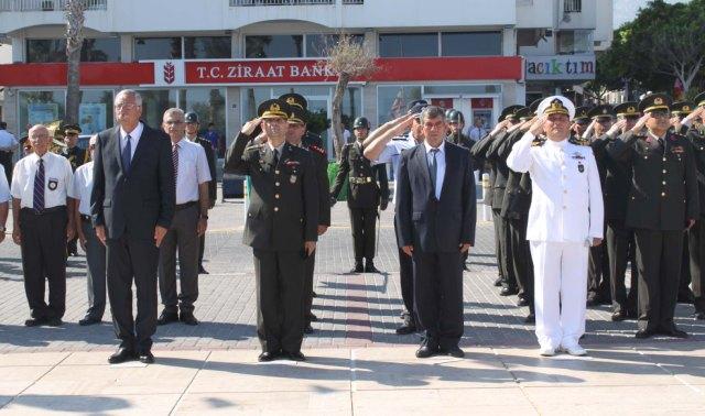 1 Temmuz Denizcilik Ve Kabotaj Bayramı Girne'de törenle kutlandı