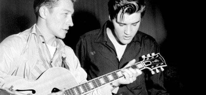 Elvis Presley'nin gitaristi hayatını kaybetti