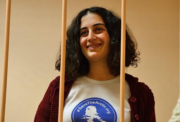 Greenpeace üyesi Gizem kefaletle serbest