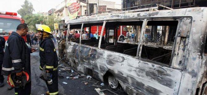 Bağdat'ta, IŞİD'in üstlendiği patlamalarda ölü sayısı 213'e ulaştı