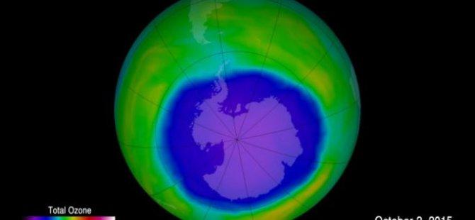 'Ozon tabakasındaki delik kapanmaya başladı'