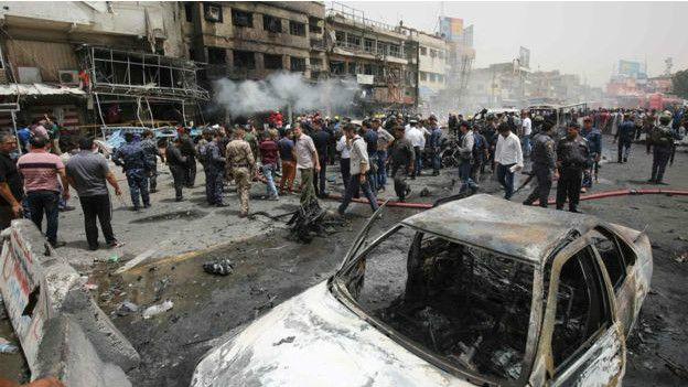IŞİD'den Bağdat'ta intihar saldırısı: Üç gün yas ilan edildi