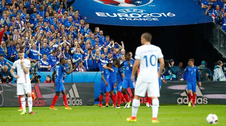 İzlanda rüyasını Fransa bitirdi