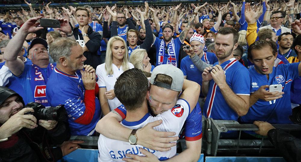 İzlanda, Fransa yenilgisine rağmen gönüllerin şampiyonu