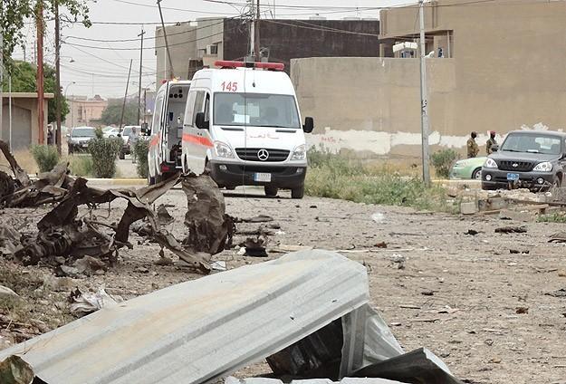 Irak'ta patlamalar:10 ölü