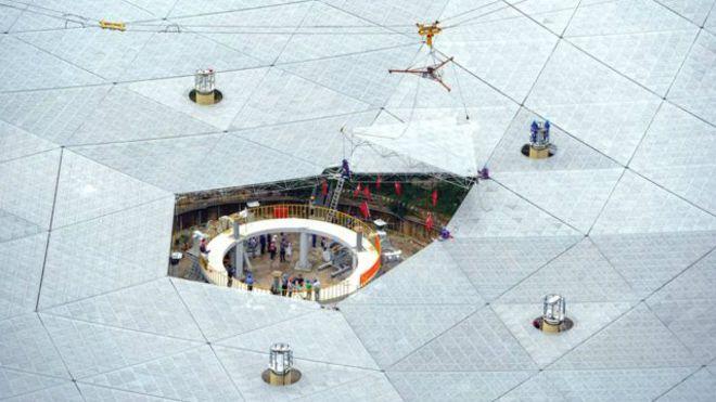 Çin uzayda yaşamı radyo teleskobuyla arayacak