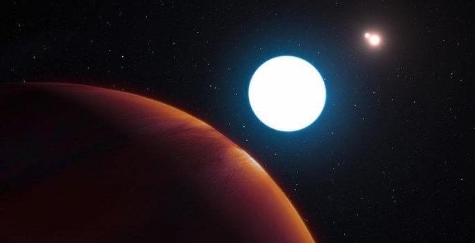 NASA 3 yıldızlı bir gezegen keşfetti