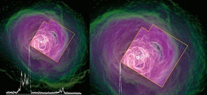 Uydu yok olmadan önce galaksi keşfetti