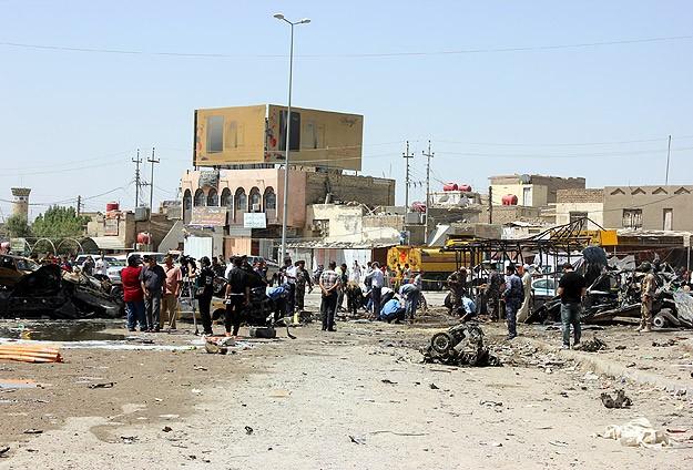 Irak'ta bombalı ve silahlı saldırılıar: 16 ölü, 37 yaralı