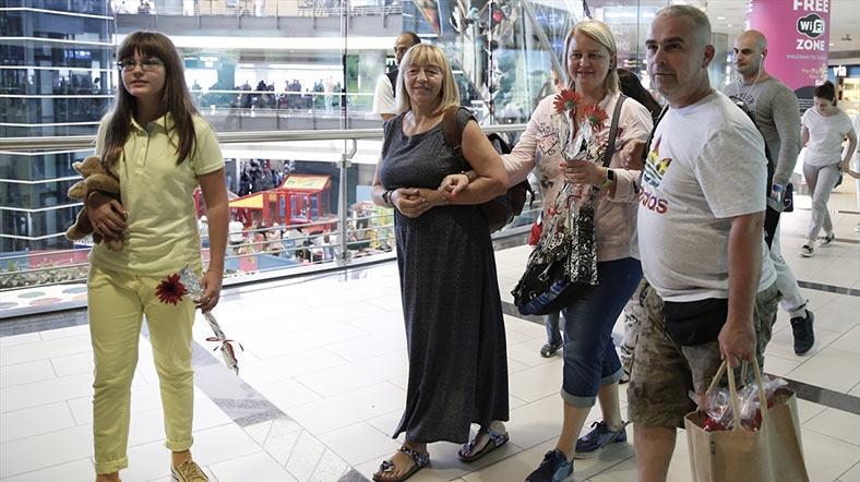 İlk Rus turist kafilesi geldi