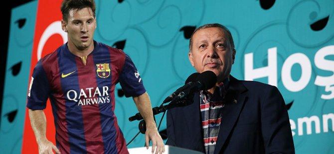 Erdoğan, Maradona ve Messi ile futbol oynayacak! Şaka değil...
