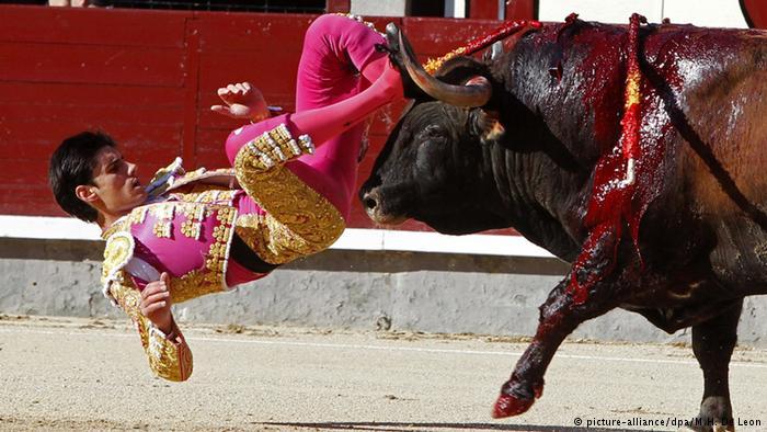 Matador boğa güreşinde öldü