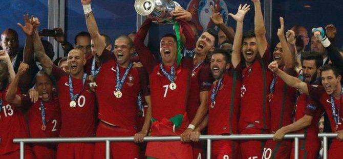 Avrupa'nın şampiyonu Portekiz