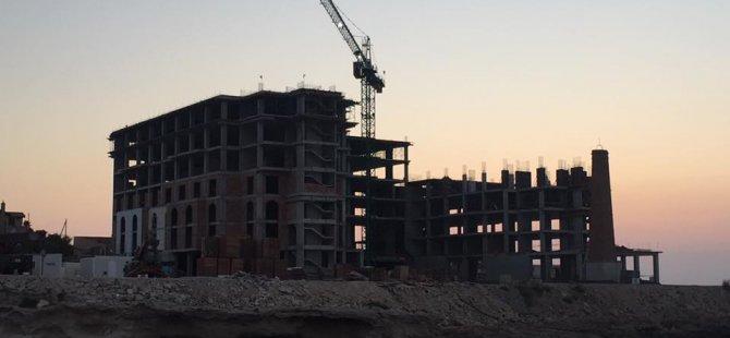 Belediye o inşaatı mühürledi!