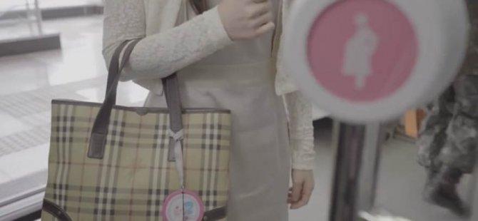 Toplu taşımalarda hamilelere kolaylık sağlayan teknoloji