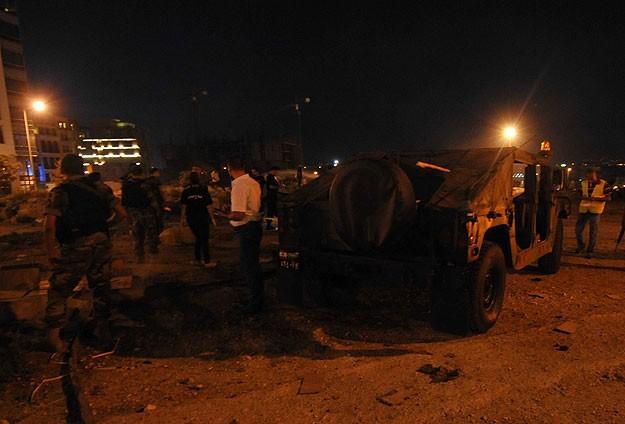 Bağdat'ta taziye çadırında patlama