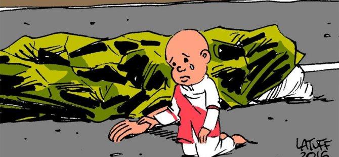 Carlos Latuff Nice saldırısını çizdi