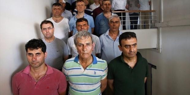 'Cunta liderliği' ile suçlanan Orgeneral Öztürk ve 2. Ordu Komutanı Huduti adliyeye sevk edildi