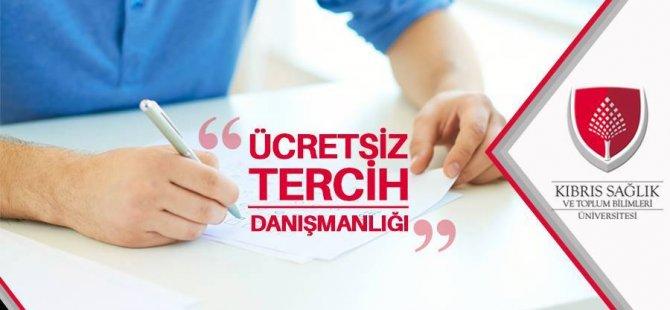 Kıbrıs Sağlık ve Toplum Bilimleri Üniversitesi'nden Ücretsiz Tercih Danışmanlığı