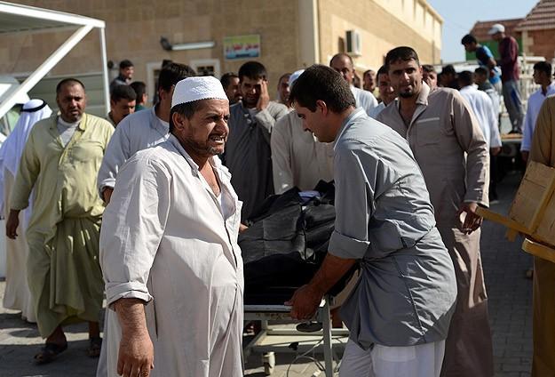Irak'ta cenaze merasiminde patlama: 8 ölü, 45 yaralı