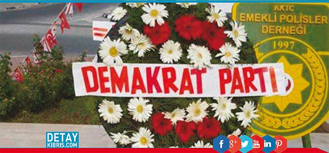 Demokrat Parti çiçekçi kurbanı