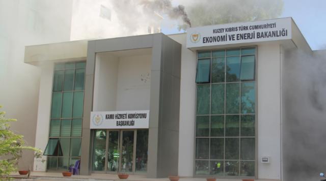 Ekonomi ve Enerji Bakanlığı'nda yangın tatbikatı