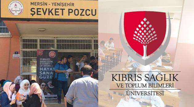 Kıbrıs Sağlık ve Toplum Bilimleri Üniversitesi burs sınavına yoğun katılım!