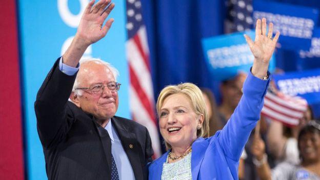 Sanders: Hillary Clinton ABD Başkanı olmalı