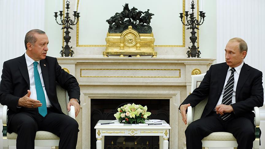 Erdoğan ve Putin 9 Ağustos'ta bir araya gelecek
