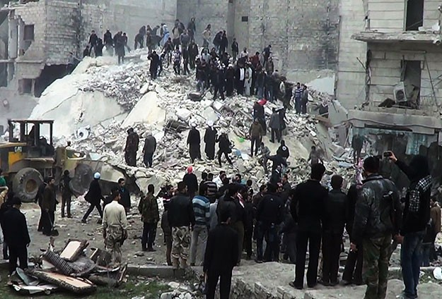 Halep'teki çatışmalarda 37 kişi öldü