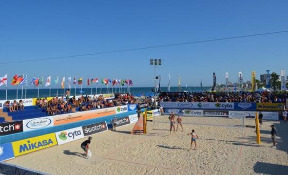 19 yaş altında Dünya Beach Volley şampiyonası bugün Larnaka'da başlıyor