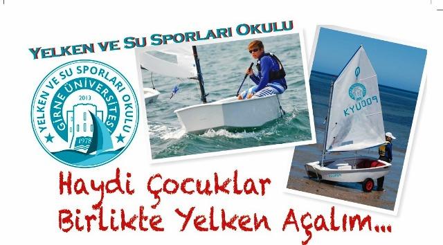 Girne Üniversitesi Vakfı Optimist Yelken Kursu düzenliyor