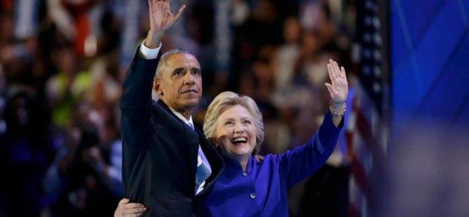 Obama'dan 'Hillary şov'