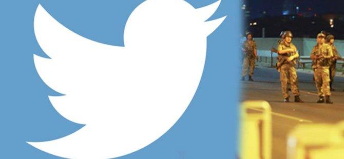 Darbe gecesi 35 kat tweet atıldı