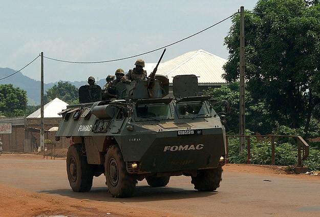 Fransa Orta Afrika Cumhuriyeti'nde operasyonlara başladı