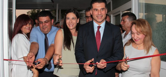 Lefkoşa Tren Yolu Polikliniği hizmete açıldı