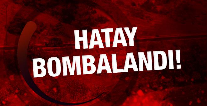 Suriye'den Hatay'a 17 top mermisi atıldı!