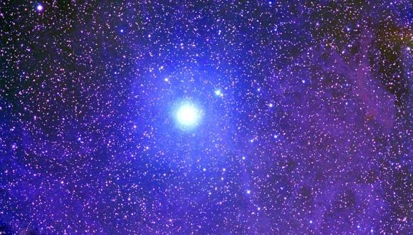 Kutup Yıldızı'na mesaj yollandı
