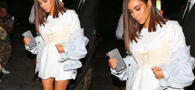 Kim Kardashian da lob kesim modasına uydu