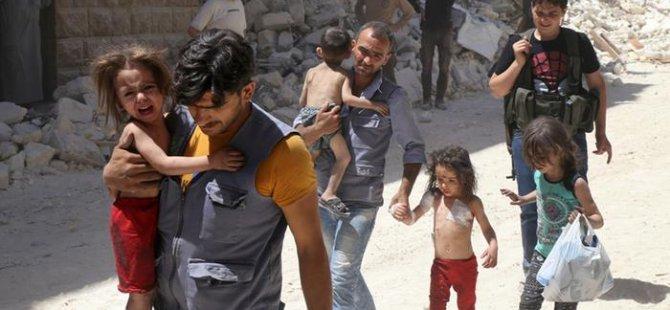 Halep'te sivillerin can pazarı!