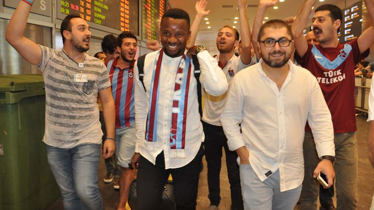 Trabzonspor, Onazi'yi KAP'a bildirdi!